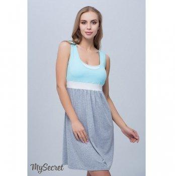 Ночная сорочка для беременных и кормящих MySecret Sela Ментол NW-1.8.4