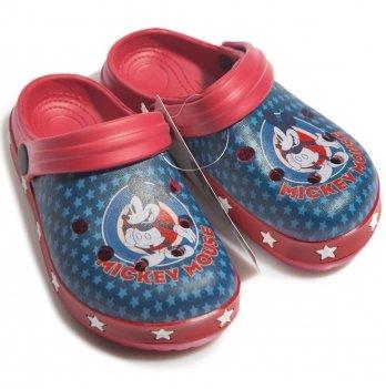 Сабо Disney Микки Маус (Mickey), красные/синие