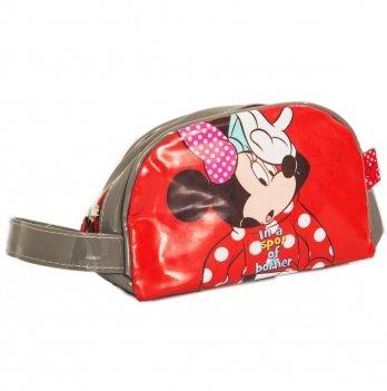 Сумка-косметичка Disney Минни Маус красная