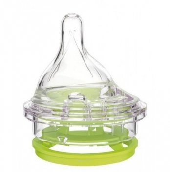 Соска с диском к бутылочке Haberman&Canpol babies