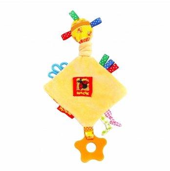 Игрушка мягконабивная Macik Забавка ромб с прорезывателем