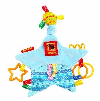 Игрушка мягконабивная Macik Забавка звезда с кольцами