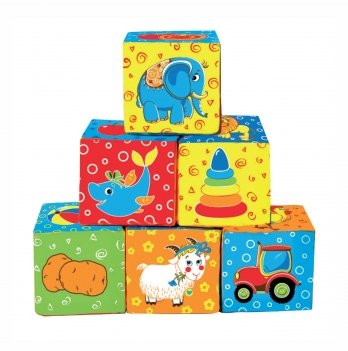Набор кубиков Macik Мой маленький мир