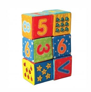 Набор мягких кубиков Macik Цифры