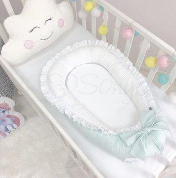 Кокон для новорожденных Маленькая Соня Универсальный Мятный 500047