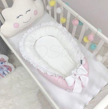 Кокон для новорожденных Маленькая Соня Универсальный Розовый 500009