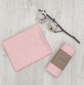 Пеленка фланелевая Маленькая Соня Розовый 4665244 80х100 см