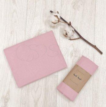 Пеленка фланелевая Маленькая Соня Розовый 4665245 80х100 см