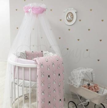 Комплект постельного белья Shine Алиса Маленькая Соня 0147233 розовый