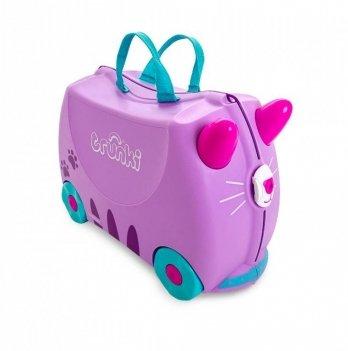Детский чемодан для путешествий Trunki Cassie Candy Cat