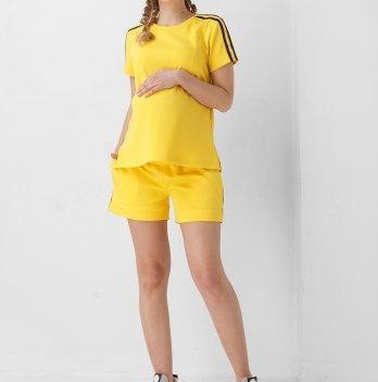 Футболка для беременных Dianora желтая 1952 0000