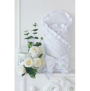 Летний конверт для новорожденного Flavien 1003/01 белый