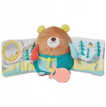 Мягкая книжка Skip Hop Мишка с одеяльцем