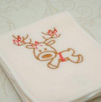 Шарфик флисовый для малышей Бетис Різдвяний, Олень