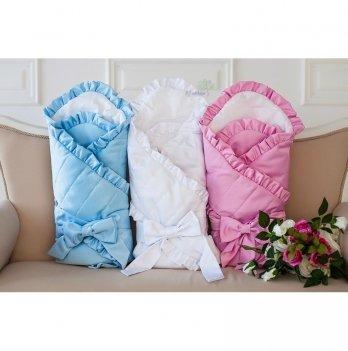 Конверт-одеяло на выписку зима Flavien 1007/01/у белый