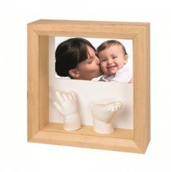 Фоторамка с набором для создания слепков Baby Art