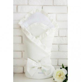 Конверт-одеяло для новорожденных Flavien светло-молочный