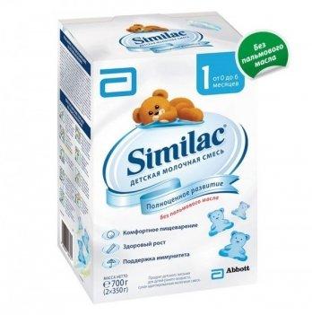 Заменитель грудного молока Abbott Labaratories Similac1, 700 г