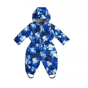 Комбинезон Цветы Garden baby 101021-63/33 сине-белый