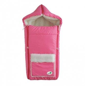 Зимний конверт на овчине Flavien 1011/08 розовый