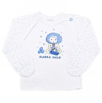Распашонка детская SMIL, голубая 101145