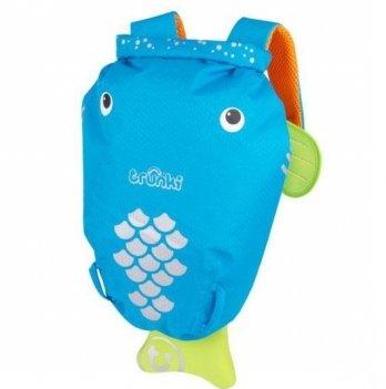 Детский рюкзак Trunki PaddlePak, Рыбка, голубой