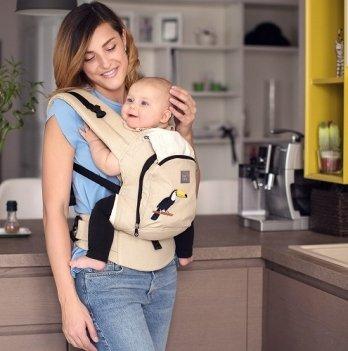 Эрго-рюкзак Love & Carry AIR Тропический лес
