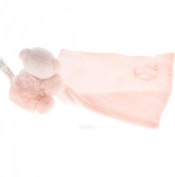 Игрушка-комфортер Kaloo Мишка розовый, PERLE