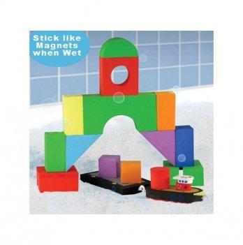 Набор плавающих блоков для ванны Just Think Toys, Буксир и баржа
