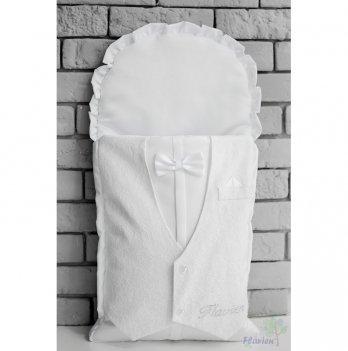 Конверт для новорожденного Flavien Джентльмен, белый