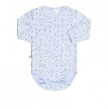 Боди-футболка детская Коллекция 2019 SMIL 102451 голубой