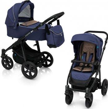 Универсальная коляска 2 в 1 Baby Design Lupo Comfort New Синий