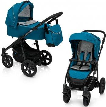 Универсальная коляска 2 в 1 Baby Design Lupo Comfort New Бирюзовый