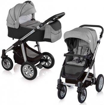 Универсальная коляска 2 в 1 Baby Design Dotty 2019 Черный