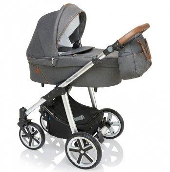 Универсальная коляска 2 в 1 Baby Design Dotty 2019 Серый