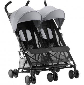 Прогулочная коляска для двойни Britax Holiday Double Серый