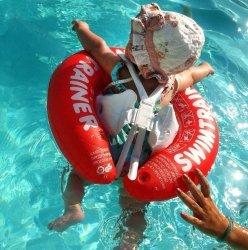 Надувной круг SwimTrainer Красный 3 мес - 4 года 10110