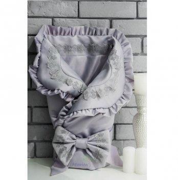 Демисезонный конверт-одеяло для новорожденного Flavien 1038/03/у серый