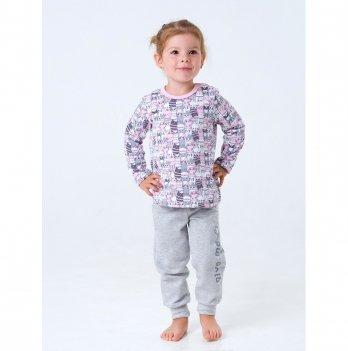 Пижама Smil Котята Серый 104201 1-1,5 лет