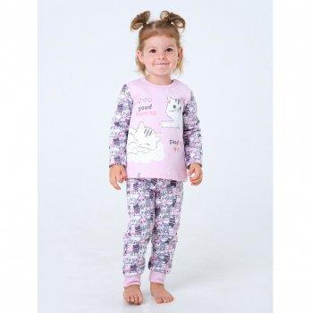 Пижама Smil Котята Розовый 104201 1-1,5 лет