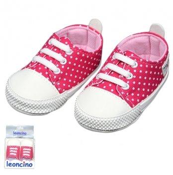 Пинетки для малыша, малиновые, возраст от 5 до 12 месяцев, Leoncino