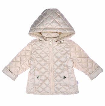 Куртка для девочки, Garden baby, кремовая