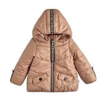 Демисезонная курточка Garden baby Темная пудра 105557-36/32