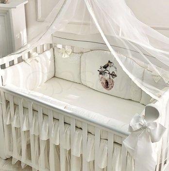 Комплект постельного белья Маленькая Соня Kolibri Молочный 023635 6 предметов