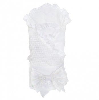 Демисезонный конверт-одеяло для новорожденного Flavien 1058/01 белый