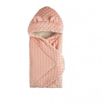 Демисезонный конверт-одеяло с капюшоном Garden Baby Персиковый 106081-66/32 69х69 см