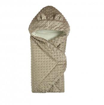 Демисезонный конверт-одеяло с капюшоном Garden Baby Серый 106081-66/32 69х69 см
