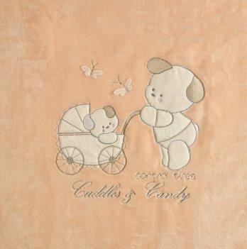 Плед Зима/Деми Garden Baby Персиковый 106088-25 105х90 см