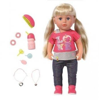 Кукла Zapf Creation, BABY BORN - Старшая сестрёнка (43 см, с аксессуарами)
