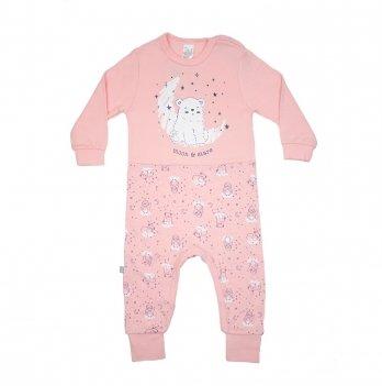 Комбинезон детский интерлок Smil Созвездия Розовый 108107 2-3 года